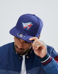 New Era 9Fifty Coast to Coast Anaheim Angels Snapback Cap - Navy