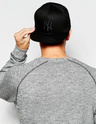 New Era 9Fifty NY Snapback Cap - Black