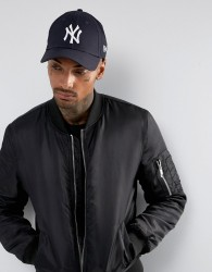 New Era 9Forty NY Adjustable Cap in Dark Navy - Navy