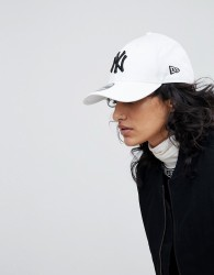 New Era 9Forty White NY Cap - White