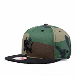 New Era Caps - NY Yankees - Camo Crown 950