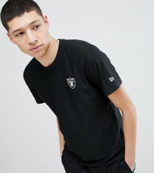 New Era Dryera Series New Raiders T-Shirt In Black Exclusive To ASOS - Black