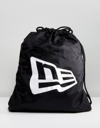 New Era New York Yankees Drawstring Backpack - Black