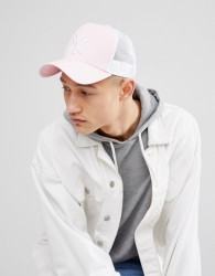 New Era NY Trucker Cap - Pink