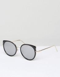 New Look Hybrid Sunglasses - Black
