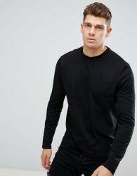 New Look Long Sleeve Top in Black - Black