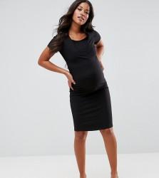 New Look Maternity Nursing Dress - Black