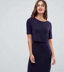 New Look Maternity Nursing Dress - Navy