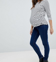 New Look Maternity Over The Bump Dark Blue Jegging - Blue