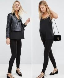 New Look Maternity Seam Free Legging 2 Pack - Black