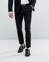 New Look Skinny Fit Suit Trousers In Black - Black