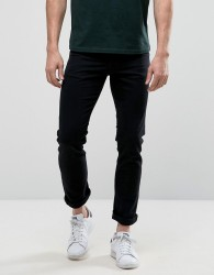 New Look Slim Jeans In Black Wash - Black