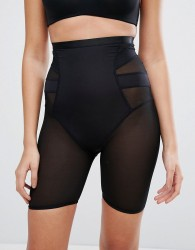 New Look Solutions High Waist Shaping Short - Black