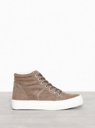 New Look Suedette High Top Borg Trainers High Top