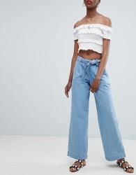 New Look Wide Leg Jeans - Blue