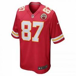 NFL Kansas City Chiefs Game (Travis Kelce)– fodboldtrøje til mænd - Rød