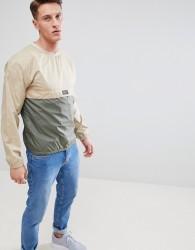 Nicce block sweatshirt in stone - Stone