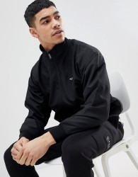 Nicce jacket with funnel neck - Black