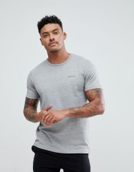 Nicce London Lounge T-Shirt With Small Logo - Grey