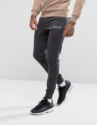 Nicce London Skinny Joggers - Black