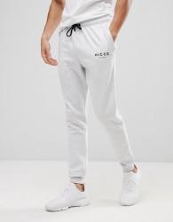 Nicce London Skinny Joggers In Grey - Grey