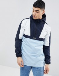 Nicce overhead retro jacket - Navy
