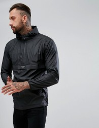 Nicce Pullover Windbreaker Jacket - Black
