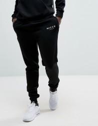 Nicce skinny joggers in black - Black