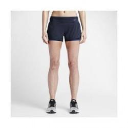 """Nike 2-in-1 - 3""""-løbeshorts til kvinder - Blå"""