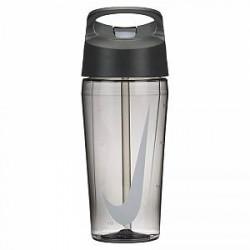 Nike 473 ml TR HyperCharge Straw-vandflaske - Black