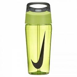 Nike 473 ml TR HyperCharge Straw-vandflaske - Gul