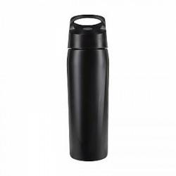 Nike 710 ml SS HyperCharge Straw-vandflaske - Black