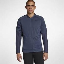 Nike AeroLayer-golfjakke (mænd) - Blå
