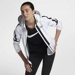 Nike AeroShield Hooded– løbejakke til kvinder - Hvid