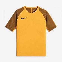 Nike AeroSwift Strike– kortærmet fodboldtrøje til store børn (drenge) - Orange