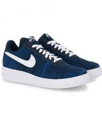 Nike Air Force 1 Flyknit Sneaker Navy men US8,5 - EU42