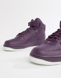 Nike Air Force 1 High '07 Trainers In Purple 315121-500 - Purple