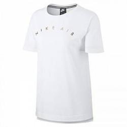 Nike Air kortærmet top til kvinder - Hvid