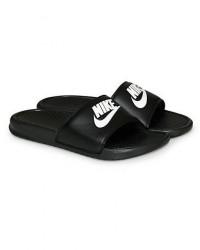 Nike Benassi JDI Slides Black/White men US7 - EU40 Sort
