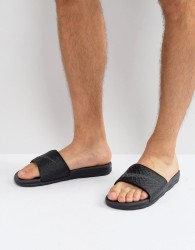 Nike Benassi Sliders In Black 705474-091 - Black