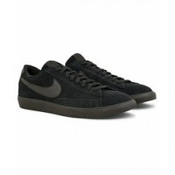 Nike Blazer Low Leather Sneaker Black