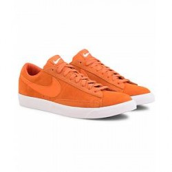Nike Blazer Low Suede Sneaker Campfire Orange