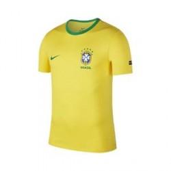 Nike Brasil CBF Crest-T-shirt til mænd - Gold