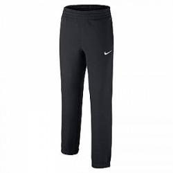 Nike Brushed-Fleece Cuffed - sweatpants til drenge - Sort