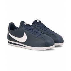 Nike Classic Cortez Leather Sneaker Blue