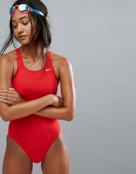 Nike Core Red Swimsuit - Red