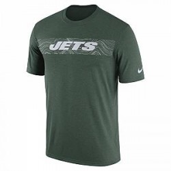 Nike Dri-FIT Legend Seismic (NFL Jets) - T-shirt til mænd - Grøn