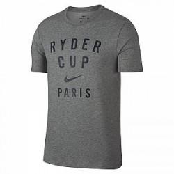 Nike Dri-FIT Ryder Cup-grafisk golf-T-shirt - Grå