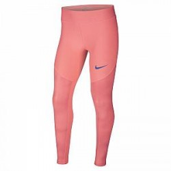 Nike Dri-FIT-træningstights til store børn (piger) - Lyserød