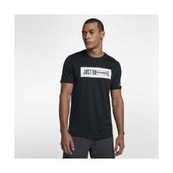 """Nike Dri-FIT""""Just Don't Quit""""-trænings-T-shirt til mænd - Sort"""